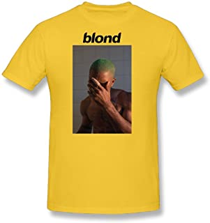 Men's Cotton Frank Ocean New Album Blonde T-Shirt