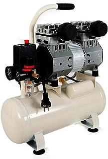 OUKANING Luftkompressor Druckluft Kompressor 15L Kessel 980W 80 l/min 8 bar Ölfrei 43dB