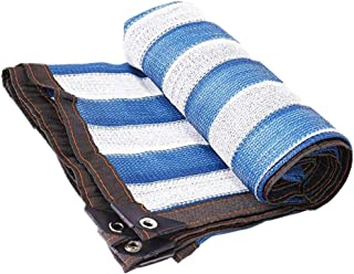 MAHFEI Shade Cloth Dustproof And Windproof High Shading Rate Anti-UV Hole Spacing 1 Meter Polyethylene, 23 Sizes (Color : ...