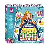 Janod - Cofanetto Mosaici Principesse e Fate - Les Ateliers Du Calme - Kit Creativo per il...