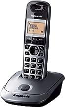 Panasonic KX-TG2511SPM - Teléfono DECT Inalámbrico (Alarma, Pantalla LCD monocroma, Capacidad de lista de direcciones: 50, Remarcado), Gris [versión importada]