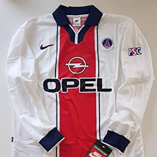 bf23054f6ff0c Nike PSG Paris Saint Germain Maillot Jersey Player Issue Vintage 1997 98  Original New Homme