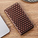 SENDIAYR Grille Texture téléphone CaseFlip Stand Cover Sacs | Étuis à Rabat, pour Xiaomi...