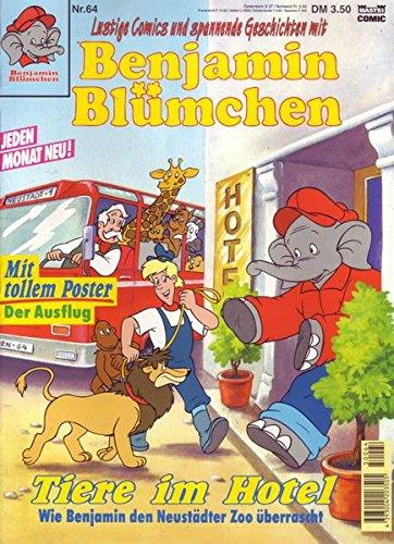 Benjamin Blümchen Nr. 64 Tiere im Hotel