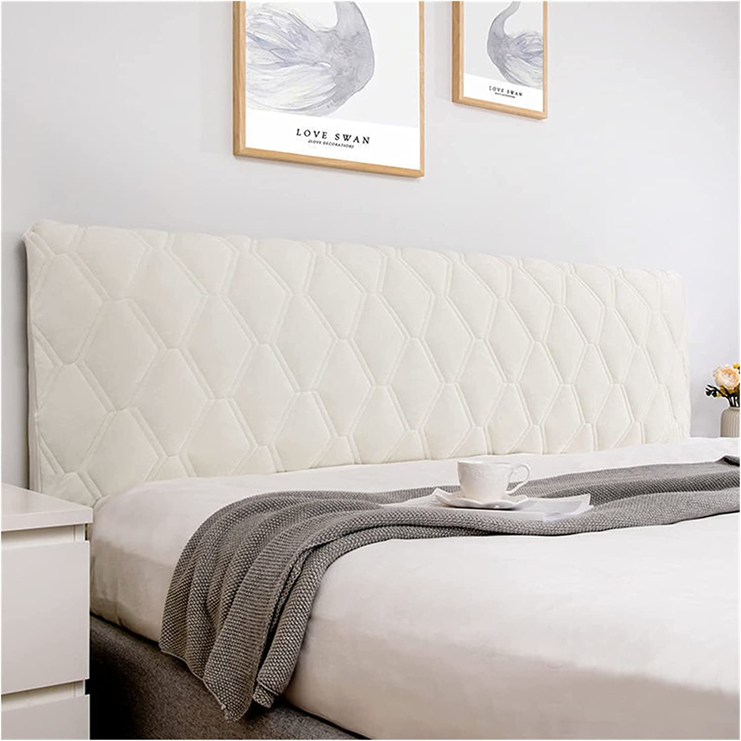 DZJUKD Financial sales sale Bedside Cover All-Inclusive Super Smooth Soft Max 82% OFF Quilted Hea