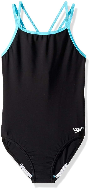 Speedo Crossback Onepiece Swimsuit (7-16)