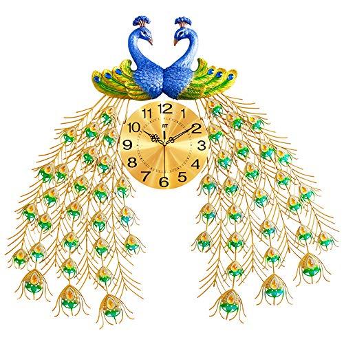 Vintage Reloj De Pared Grande Salon 80cm,moderno Digital Silencioso Reloj De Pared...