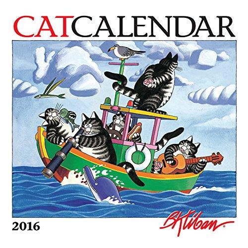 B. Kliban: CatCalendar 2016 Mini Wall Calendar