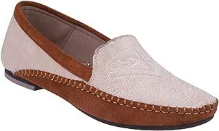 pelle albero Womens Beige Comfortable Casual Shoes