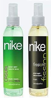 Nike Casual & Fission Man Bodymist Spray - Pack Of 2 (200ml Each)