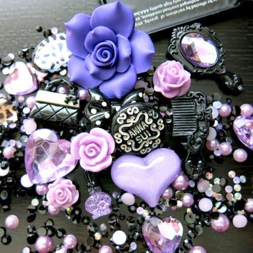 Scrapbooking 21\u00d745mm 1 Pc Hello Beautiful Flatback Cabochon Resin Planar for Phone Case Decoration etc