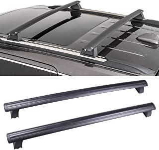 OCPTY Roof Rack Cross Bar Cargo Carrier Fit for 2011-2018 Jeep Grand Cherokee Sport Utility 3.0L 3.6L 5.7L 6.2L Roof Rack Crossbars (Only Fits with OEM Roof Rails)