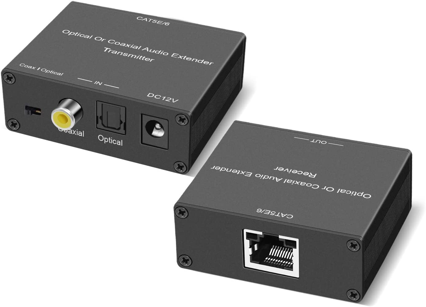 Free shipping anywhere in the Spring new work nation Digital Audio Extender Ext Optical Coaxial