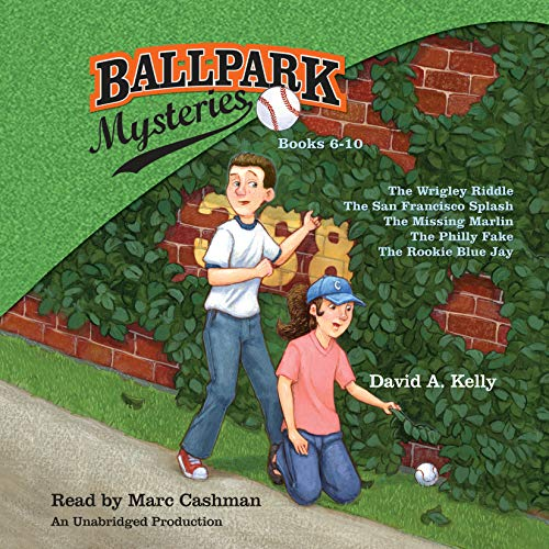Ballpark Mysteries Collection: Books 6-10 audiobook cover art
