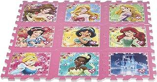 ColorBaby - Alfombra Puzzle goma EVA de Princesas DISNEY - 9 piezas - 93x93 cm (48055)