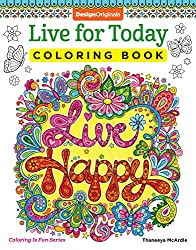 simple coloring books for seniors by Thaneeya McArdle