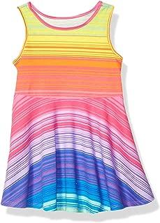 Baby Girls Sleeveless Pleated Dress
