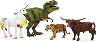Schleich Favorite Toys Starter Set, Toy Figurines, Animal Toys for Boys and Girls 3-12 Years Old, 4-Piece Story Starter Se...