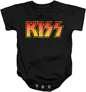 KISS Rock Music Distressed Vintage Logo & Stickers