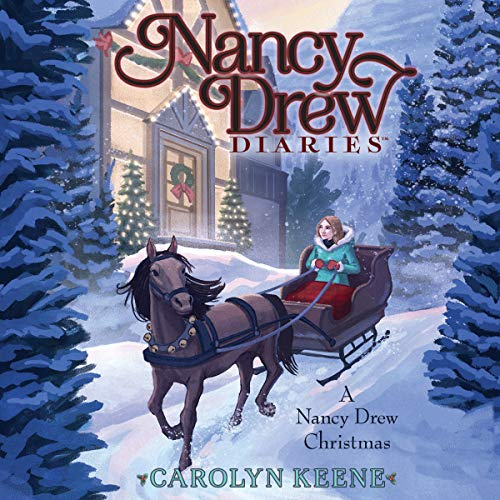 A Nancy Drew Christmas audiobook cover art
