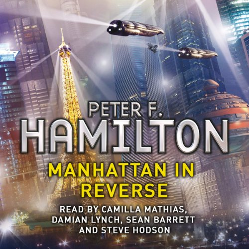 Manhattan in Reverse audiobook cover art