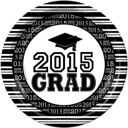 ventas calientes negro Graduation Graduation Graduation Dinner Plates Package of 50. by Shindigz  60% de descuento