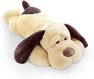 elfishgo Large Dog Plush Hugging Pillow,Soft Big Dogs Stuffed Animal Toys Giant Puppy Gifts for Kids (31 inch)