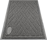 Pawkin Cat Litter Mat, Patented Design with Litter Lock...