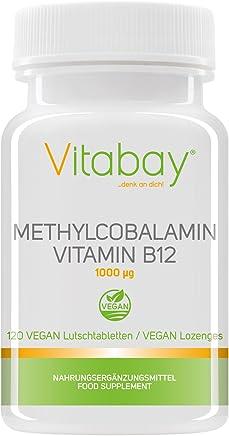 Methylcobalamin - 1000 mcg - Vitamin B12 Lutschtabletten - Vegan (120 Vegane Lutschtabletten)