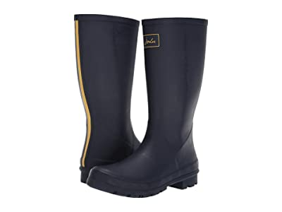 Joules Roll Up Welly (French Navy) Women