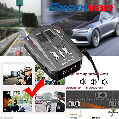 Best Deals! SD LED 360 Degree Car 16 Band V9 Speed Police Safe Radar Detector Voice Alert Laser