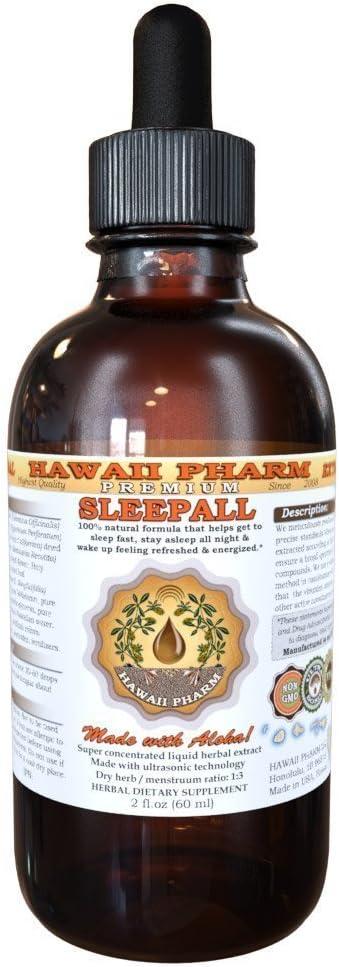 SLEEPALL Challenge the lowest price of Japan Large-scale sale - HawaiiPharm's Fast Acting Sleep Pr Natural Aid Liquid
