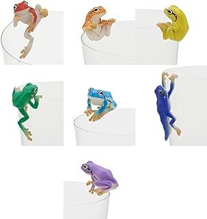 Kitan Club Japanese Tree Frog Putitto Series Set (Rainbow Version)
