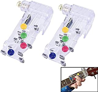 Xgood 2 Packs Guitar Key Chord Assisted Learning Tools Guitar Beginner Tools Guitar Pratice Tools for Kids Adults Trainer ...