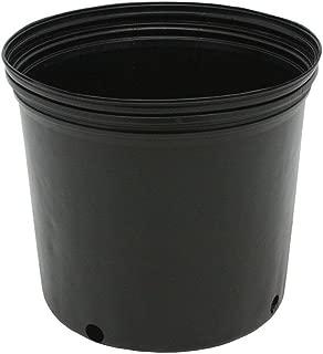Viagrow 3 Gal. Plastic Nursery Pots (11.36 Liters) 10-Pack