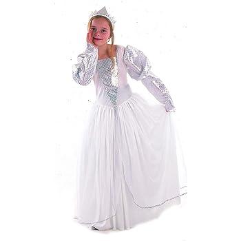 Disfraz blanco de princesa para niña: Amazon.es: Juguetes y juegos