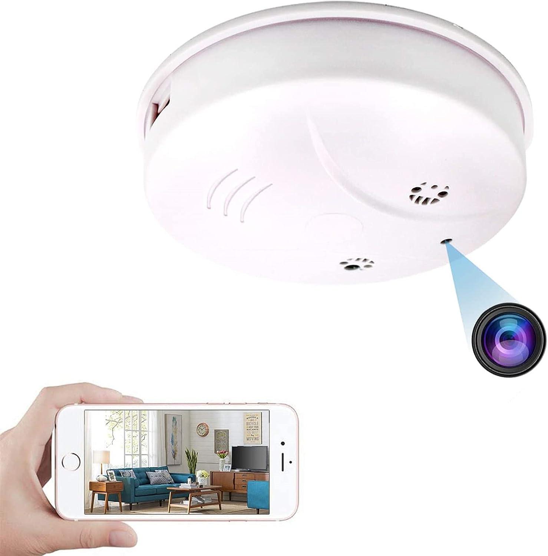 Weekly overseas update Heymoko WiFi Night Vision Smoke Camera Hidden Spy Detector Wi-Fi