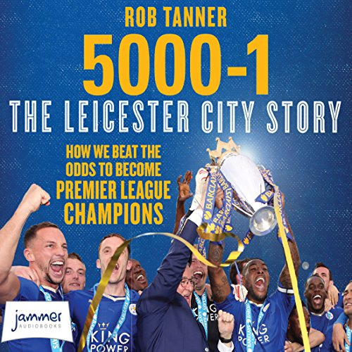 5000-1: The Leicester City Story audiobook cover art