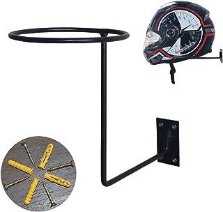 CHCYCLE Motorcycle Accessories Helmet Holder Jacket Hanger Wall Mounted Multifunctional Rack (1 Pack)