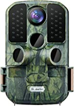 Dr.meter Wildlife Hunting Camera 24MP 1080P HD Trail Game Camera IP66 Waterproof 120° Wide Angle Lens Scouting Monitoring ...