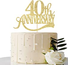 Best cake toppers 40th wedding anniversary Reviews