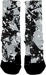 Spurs Splatter Custom Elite Socks