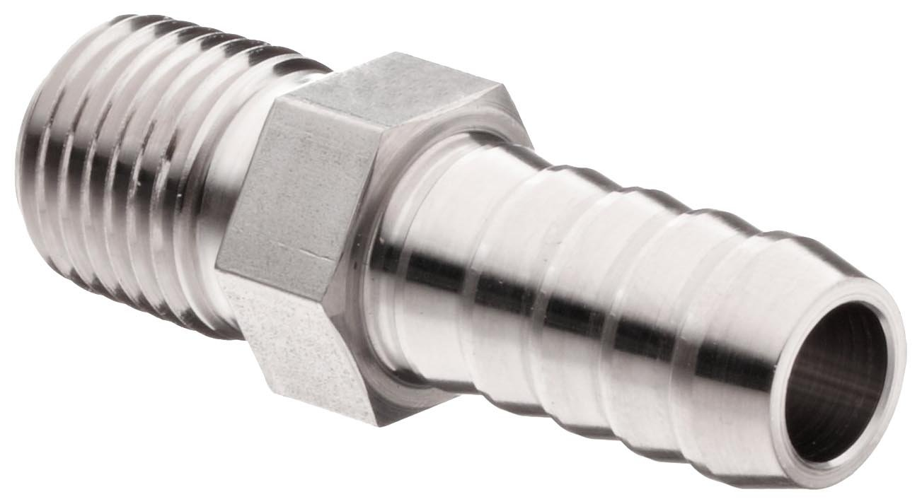 Parker 6-4 B2HF-SS Stainless Steel Adap NEW before selling 316 Hose Max 69% OFF Barbed Fitting