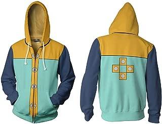 The Seven Deadly Sins Cosplay Costume Hoodies Sweatshirt Jackets