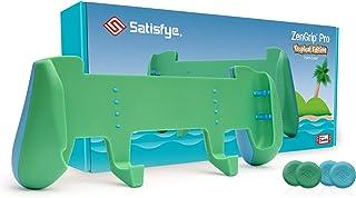 Satisfye Zengrip Pro Tropical Edition (Green), Accessories Compatible With Nintendo Switch - Comfortable & Ergonomic Grip,...