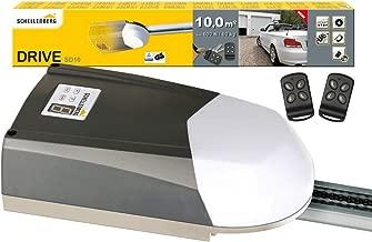 Schellenberg 60910 Motor para Puertas seccionales de Garaje Smart Drive 10 m², con Fuerza 600 N/Incl. 2 mandos a Distancia y desbloqueo de Emergencia