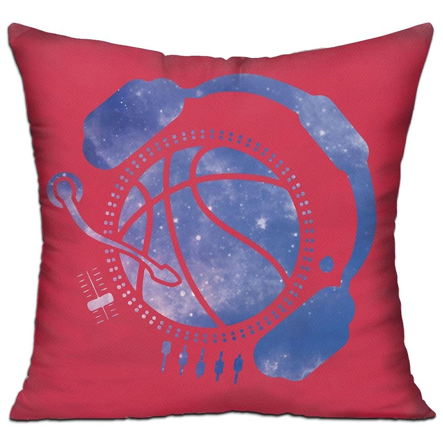 打ち負かすハグ生態学バスケ試合 ゲーム MC ロック魂 抱き枕 だきまくら クッション 座布団 柔らかい 贈り物 中身:綿 45*45cm