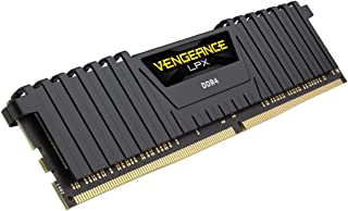 Corsair Vengeance LPX 8GB (1x8GB) DDR4 3200 (PC4-25600) C16 Optimized for AMD Ryzen - Black