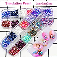 Modeling Clay - Holes/Box Diy Uv Pearl Particles Accessories Slime Balls Small Tiny Foam Beads For Floam Filler For Slime Diy Supplies 3-5Mm (Fruit)
