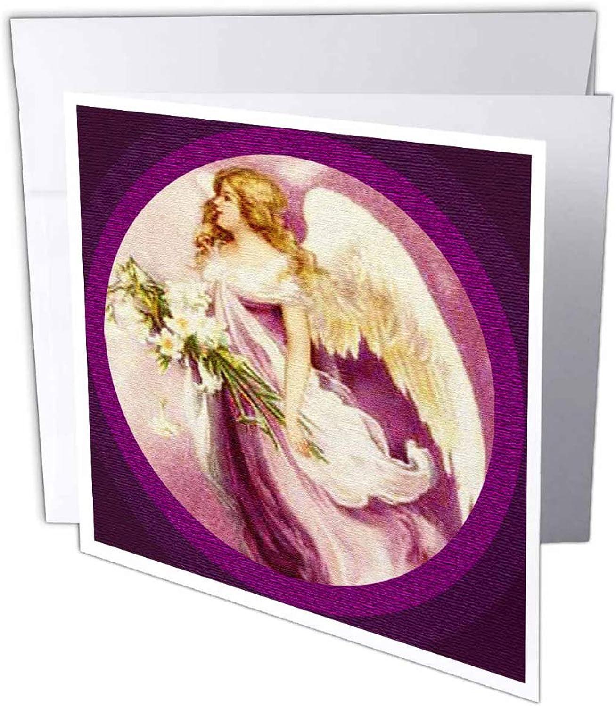 3dRosa gc_14783_1 Grußkarte Osterengel texturiert , 15,2 x x x 15,2 cm, 6 Stück B07B3V2LFK | Passend In Der Farbe  | Schön und charmant  | Gewinnen Sie das Lob der Kunden  2d01a4